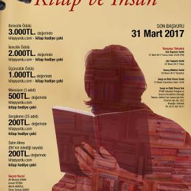 FOTOĞRAF YARIŞMASI -Konu:  Kitap ve İnsan Son katılım tarihi : 31 Mart 2017