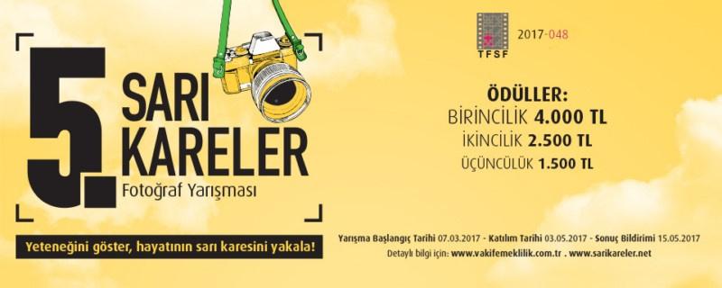 """VAKIF EMEKLİLİK 5. """"Sarı Kareler"""" Fotoğraf Yarışması - Son Katılım Tarihi: 03.05.2017"""