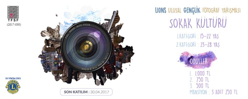 """1. Ulusal Fotoğraf Yarışması """"Sokak Kültürü"""" FOTOĞRAF YARIŞMASI Son Katılım Tarih : 30.04.2017"""
