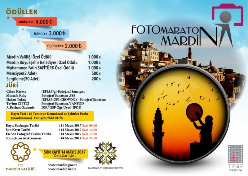 """Mardin Valiliği - Mardin Büyükşehir Belediyesi """"Mardin'de Yaşam-Kültür ve Mekân"""" Foto Maratonu - Kayıt Başlangıcı Tarihi :11 Mayıs 2017"""
