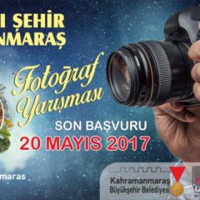 """Kahramanmaraş Büyükşehir Belediyesi 1.Ulusal Fotoğraf Yarışması """"Madalyalı Şehir Kahramanmaraş"""" Son Katılım -Tarihi:20.5.2017"""
