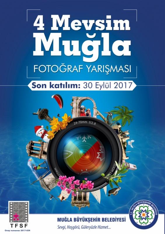 """Muğla Büyükşehir Belediyesi Fotoğraf Yarışması """"Dört Mevsim Muğla"""" Şartnamesi- Son Katılım Tarihi: 30 Eylül 2017"""