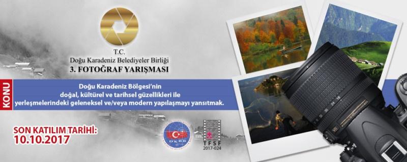 DOĞU KARADENİZ BELEDİYELER BİRLİĞİ (DKBB) 3. FOTOĞRAF YARIŞMASI - Son Katılım Tarihi: 10.10.2017