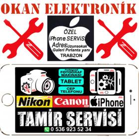 Canon Nikon İPhone Prof. Fotoğraf Makina Tamiri,Tablet ve Cep Telefonu Tamiri Uzunsokak Galeri Pırlanta Yanı TRABZON 0536 923 52 34