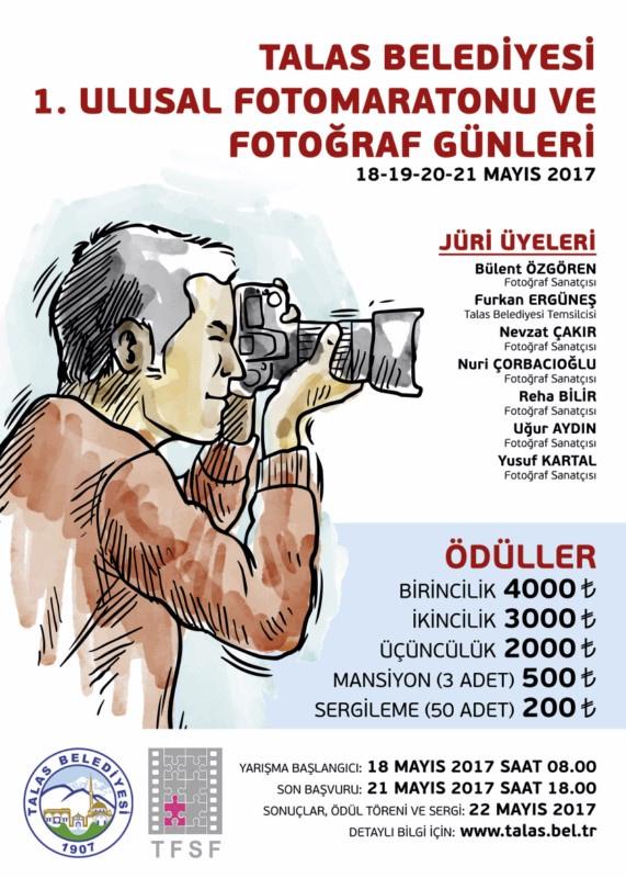 TALAS BELEDİYESİ FOTOMARATONU ve FOTOĞRAF GÜNLERİ