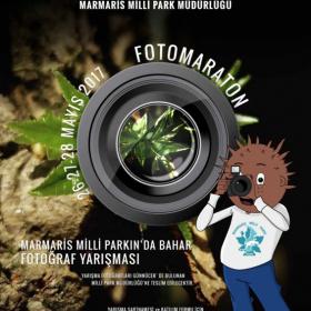 "Marmaris Millî Parkı Foto Maratonu  ""Marmaris Millî Parkı'nda Bahar"" (26-27-28 Mayıs 2017)"