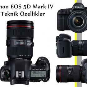 Canon EOS 5D Mark IV ÖZELLİKLERİ
