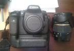 Canon 7D body+batarygripi orjinal