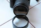 Nikon D5000+18-105mm Lens + Uv Filtre +1 adet 4 Gb Kart + Masa Tripodu