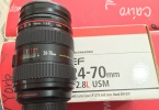 Canon 24 70 2.8 sıfırdan farksız