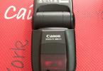 Canon 580ex II flash temiz sorunsuz