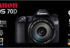 Canon 70D  3.400TL  sıfır kapalı kutu faturali garantili