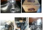 ÇOK ACİL SATILIK FUJİFİLM FINEPIX HS 30 EXR 16 MP DSLR FOTOĞRAF MAKİNESİ