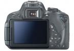 Canon 700D + 18-55mm IS STM Lens DSLR Makinesi    DOKUNMATIK EKRAN