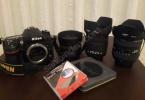 Nikon D7100 + 3 Lens