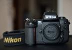 Nikon F100 SLR Kolleksiyonluk 0 Kondisyonda