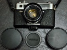 Yashica Electro 35 GSN+Flash+Yashica Lensleri İle Birlikte