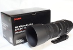 Sigma 120-400mm f/4.5-5.6 APO DG OS HSM Lens