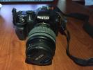 İkinciel PENTAX K-X  ve 18-55mm SATILIK - ÇOK TEMİZ