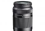 Olympus 75-300mm f/4.8-6.7 Telefoto Zoom Lens ( 2. EL )
