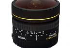 Sigma 8mm F3.5 EX DG Fisheye Dairesel (2. EL)