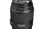 Canon EF 100mm f/2.8 Macro USM Lens (2. EL)