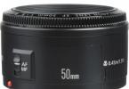 Canon EF 50mm f/1.8 II Lens (2. EL)