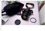 NİKON D5200 + 18-105mm LENS + KORUYUCU FİLTRE + ÇANTA