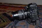 Fiyatı düşürdük Canon 1D Mark III body ve 18 135 lens