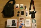 Canon 60D + 18-135 mm + Çanta