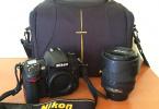 Nikon D7000 + 18-105mm VR kit lens