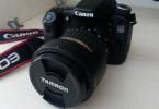 Temiz Canon 70D body ve Tamron 17-50 2.8 Lens