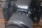 Canon 550d + 18-55 mm + çanta + 16 gb hafıza kart