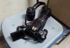 Canon 650d18-200+18-55lens+çanta+tripod
