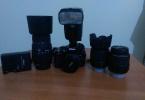 Nikon D5100   18-55 mm 8 gb hafıza kartı taşıma çantası uzaktan kumandası ile beraber 1300 tl