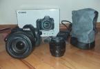 Kaçırılmayacak Fırsat! Canon 6D Body + 24 - 105 Kit lens + 50 mm 1.8 ACİL SATILIK!