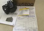4 AYLIK Nikon D5200 body - KArfo Karacasulu garantili
