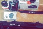 Canon 650D + 50mm 1.8 + trıpod + 32 GB SanDisk hafıza kartı
