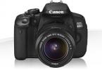 Canon 650D&18-55 Lens + 3 adet Objektif (Çok iyi durumda)