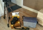 Garantili Full Nikon D3300+18-105 nikkor lens 1700 Tl