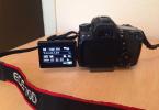 Temiz 70D + 50mm (1.8f) lens + body grip + çanta