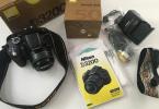 nikon d3200 + nikkor 50mm 1.8 lens