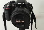Garantili Sıfırdan Farksız Yepyeni ACİL Satılık Nikon D3300+18.55 kit lens ve AF-S Nikkor 50mm 1.8 g lens