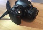 Nikon d3100 + 50mm f/1.8D Lens