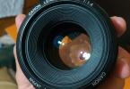 Canon 50mm 1.4 USM Temiz