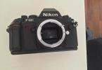 Nikon f301 + 80-200mm + 35-70mm + 28-50mm lens + 4 filtre + çanta