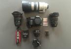 Canon 5D M3 ve Objektif seti