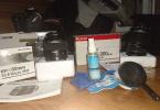 CANON 550 D 14.000 shutter 18-55 kit+60mmMacro+55-250 telefoto+tripod+2 çanta