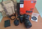 Sony a77 +16-50mm + Sony 50mm 1.8 + B+W Polizer Filtre + Şık çanta