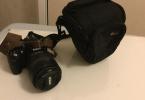 D3100 + 18 - 105 mm lens